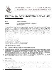 protokoll der sc-generalversammlung vom sonntag, 5. märz 2006 ...