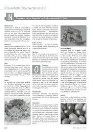 Gesundheit: Frischwaren von A-Z