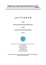 FCI-Prüfungsordnungen 2012 - TKGS