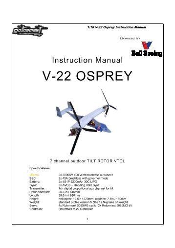 V`22 OSPREY - Esprit Model