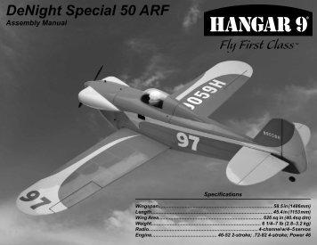 DeNight Special 50 Manual - CMC Versand