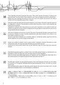 Operating instructions Instrucciones de uso Mode ... - RCLogger.Com - Page 2