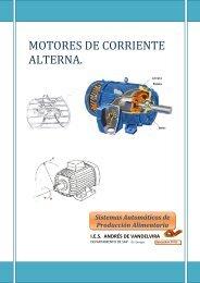 MOTORES DE CORRIENTE ALTERNA.