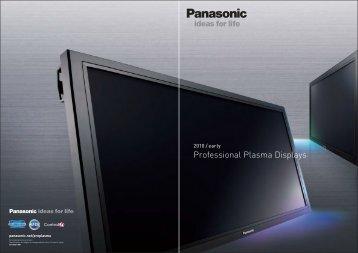 Panasonic Plasma Displays