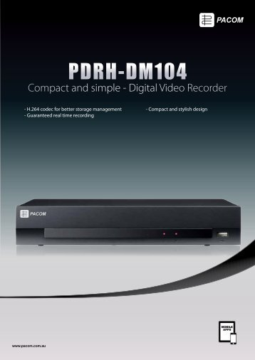 PDRH-DM104 - Pacific Communications