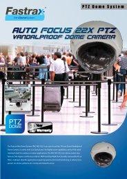 Auto Focus 22X PTZ