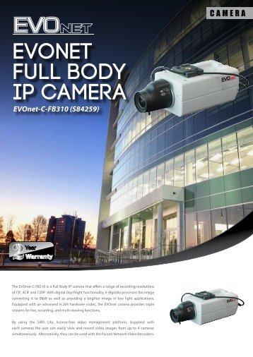 EVOnet Full Body IP camera