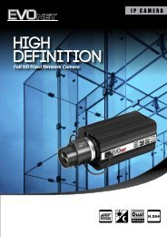 High DefInition Full HD Fixed Network Camera