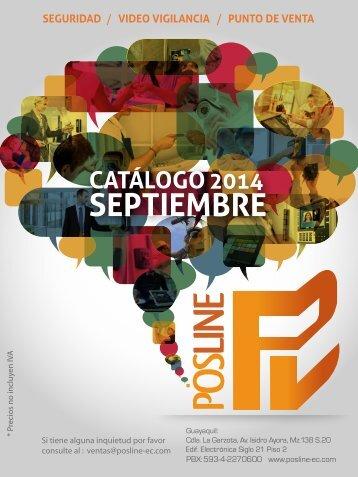 Catalogo Posline Septiembre