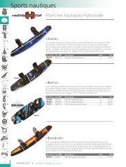 Brochure planche wakeboard - aqua services
