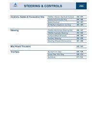 Steering & controls 455 - aqua services