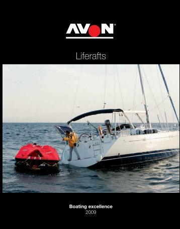 Liferafts - Avon Inflatable Boats and Ribs
