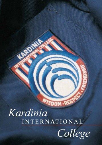 College Prospectus - Kardinia International College