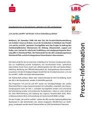 P resse-In fo rm atio n - Sparkassenverband Rheinland-Pfalz