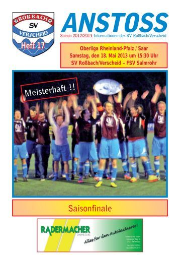 Heft 17.qxd - SV Roßbach