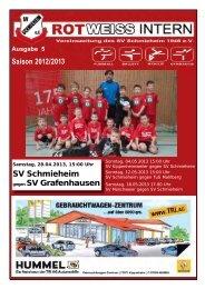 Ausgabe 5, Saison 2012/2013 - SV Schmieheim