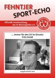 fehntjer sport-echo - SV Warsingsfehn