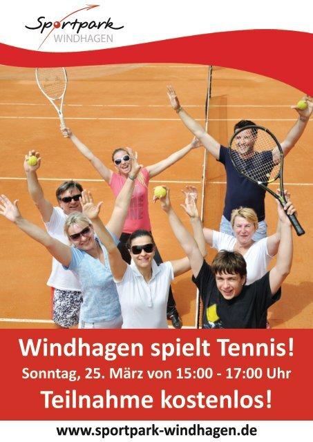 Windhagen spielt Tennis.cdr - SV Windhagen