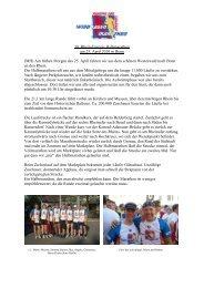 10. Rhein-Energie-Halbmarathon am 25. April ... - SV Windhagen
