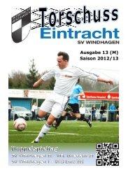 Saison 2012/13 - SV Windhagen