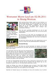 Westumer Murre-Lauf am 02.06.2011 in Sinzig ... - SV Windhagen