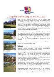 2. Zugspitz-Extrem-Berglauf am 10.07.2011 - SV Windhagen