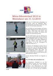 Münz-Silvesterlauf 2010 in Montabaur am 31.12 ... - SV Windhagen