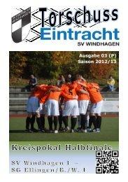 Ausgabe 03 (P) Saison 2012/13 - SV Windhagen