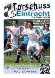Ausgabe 12 (M) Saison 2012/13 - SV Windhagen