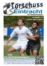 Ausgabe 13 Saison 2012/13 Ausgabe 14 Saison ... - SV Windhagen