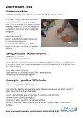 Kortkurser på Dalkarlså folkhögskola sommar och höst 2013 - Page 4