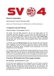 Zusammenfassung Jugendspiele_we45 - SV 04 Attendorn e.V.