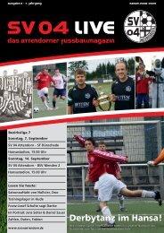 Derbytanz im Hansa! - SV 04 Attendorn e.V.