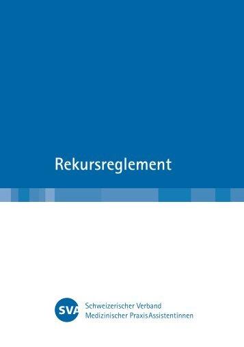 Rekursreglement - SVA
