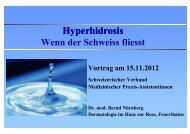 Hyperhidrosis - SVA