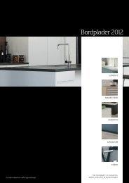 Bordplader 2012 - Svane Køkkenet
