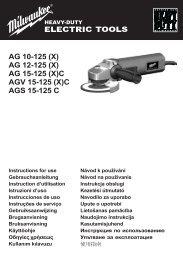 AG 15-125 (X) - Instrumentos