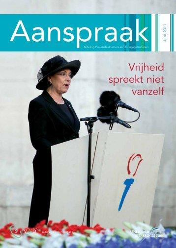 Aanspraak juni 2011 - Svb