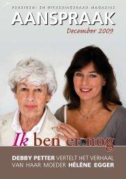 Aanspraak december 2009 (pdf, 2.12 MB) - Svb