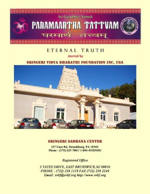 Ancient Indian Mathematics - Sringeri Vidya Bharati Foundation