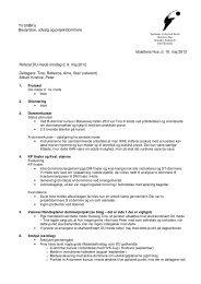 Idrættens Hus, d. 10. maj 2012 Referat DU-møde onsdag d. 9. maj ...