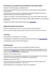 Info-folder til nye og gamle trnere / holdledere - Sjællands Volleyball ...