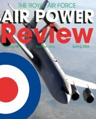 Volume 9 No 1 - Air Power Studies