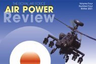 Volume 4 No 4 - Air Power Studies