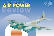 Volume 4 No 1 - Air Power Studies