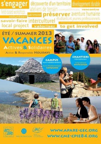 brochure Chantiers + Campus - L'apare