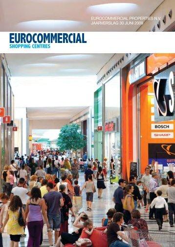 eurocommercial properties nv jaarverslag 30 juni 2009