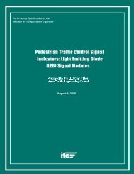 Pedestrian LED Modules Specification - Signal Control Products, Inc.