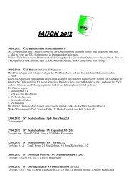 SAISON 2012 1