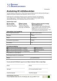 Förbindelse - Svenska Djurhälsovården